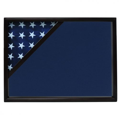 Police Officer Ceremonial Corner Flag Case