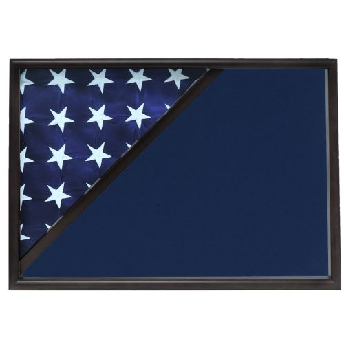 Police Officer Memorial Corner Flag Case