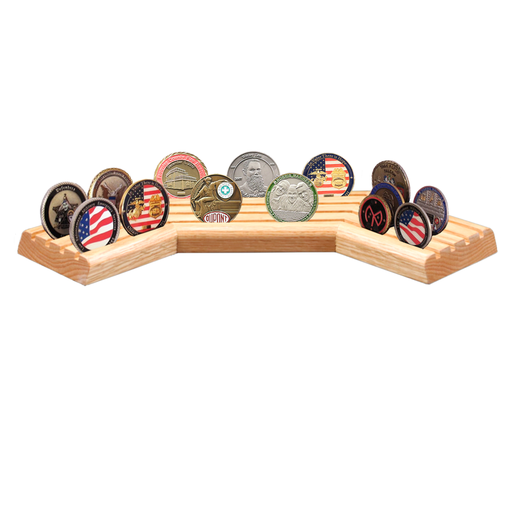 Stadium Coin Display | Made4Heroes com | 100% Made in the USA