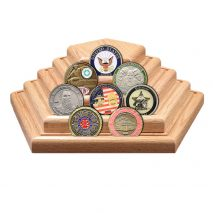 pentagon coin display
