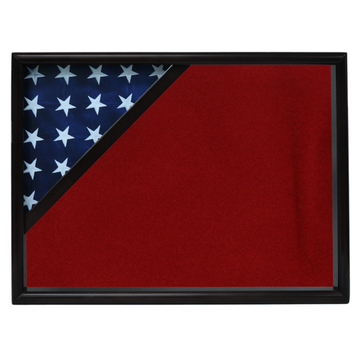 Firefighter Ceremonial Corner Flag Case - Black