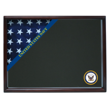 Navy Ceremonial Corner Flag Case