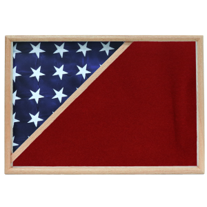 Firefighter Memorial Corner Flag Case