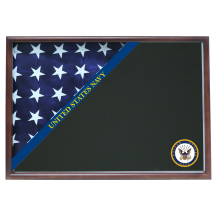 Navy Memorial Corner Flag Case