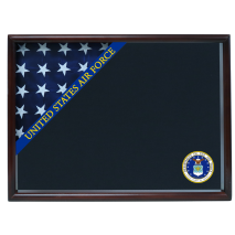 Air Force Ceremonial Corner Flag Case