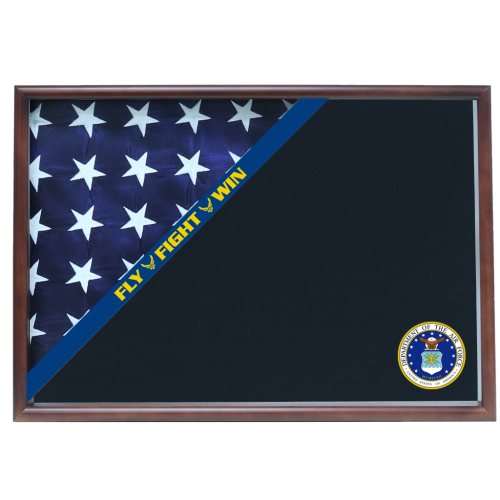 Air Force Memorial Corner Flag Case