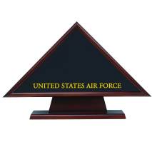 Air Force Hero Memorial Flag Case With Pedestal
