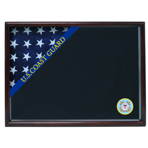 Coast Guard Ceremonial Corner Flag Case