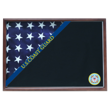 Coast Guard Memorial Corner Flag Case