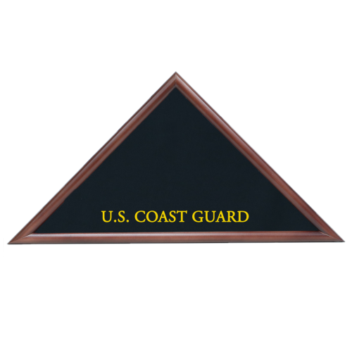 Coast Guard Hero Memorial Flag Case