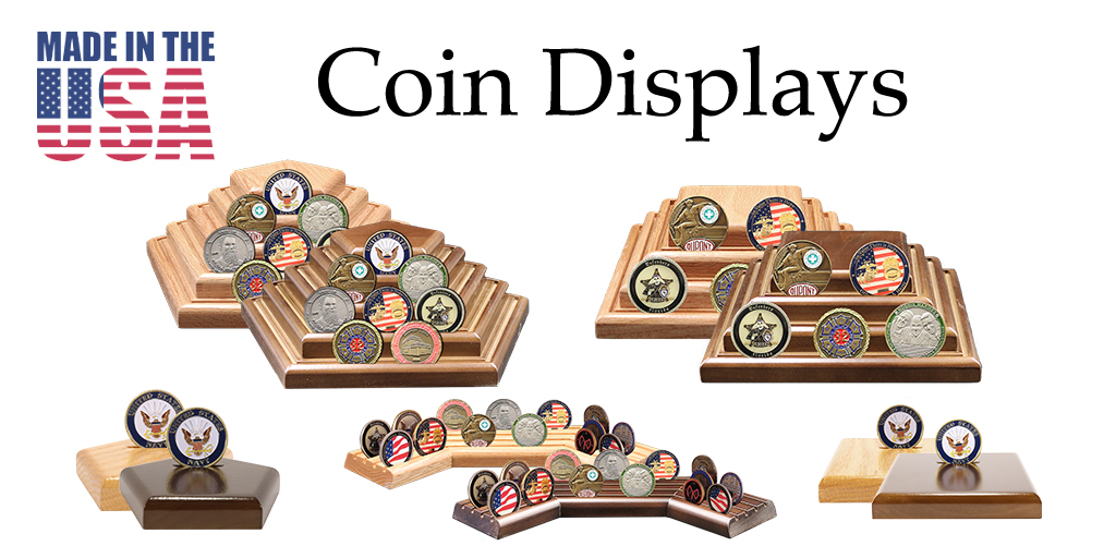 Coin Displays | Challenge Coin Holders | 100% American Made Products